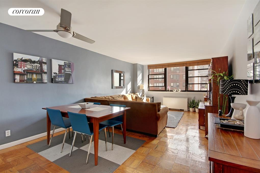 225 East 36th Street, 8F, Sunny and Spacious Living Room