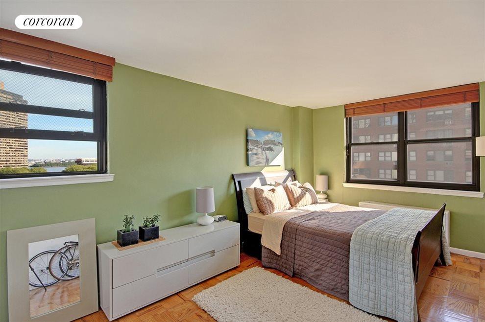 Corner Bedroom with River View