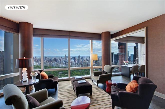 25 Columbus Circle, 69B, Living Room