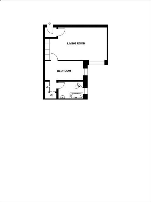 New York City Real Estate | View 418 Central Park West, #49 | Floorplan