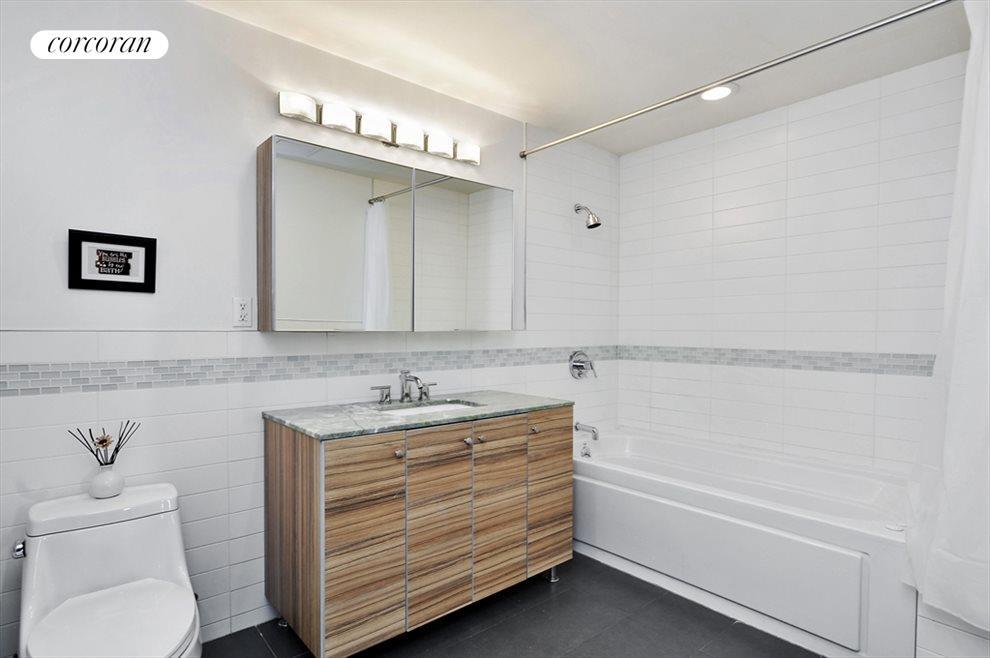 Master Bathroom with whirlpool jet bathtub