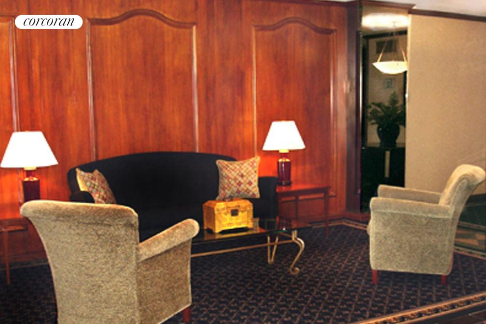 elegant and comfortable lobby