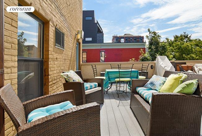 205 15th Street, A4, Huge roof deck off the living room!!