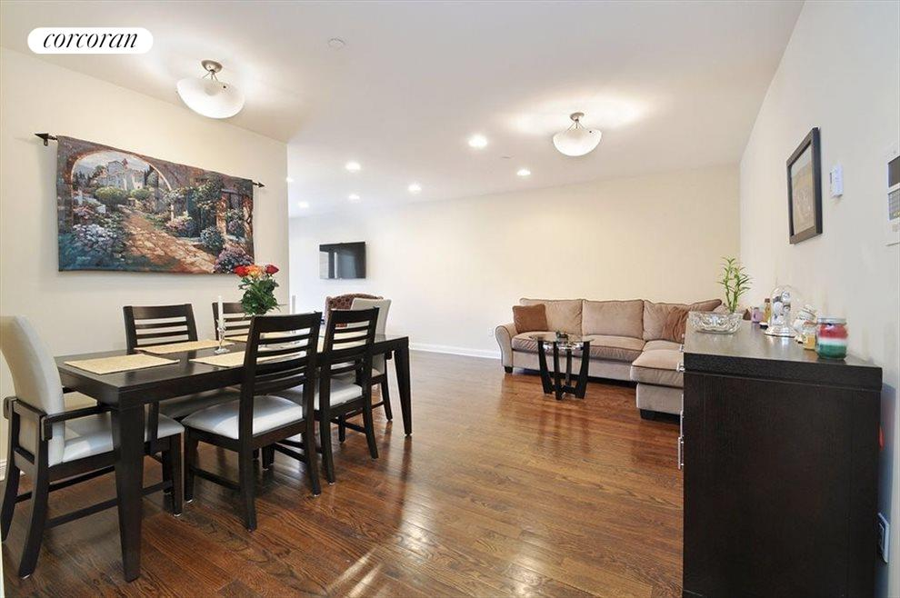 Doubles up into two living areas!