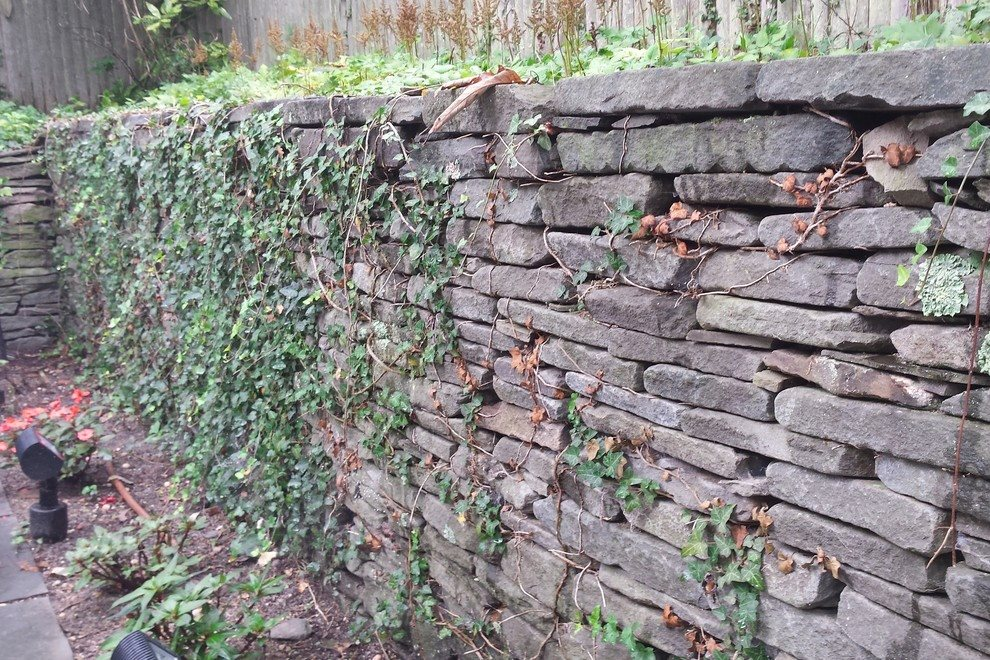 Stone Walls and Planters