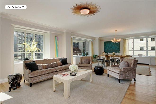 200 East 66th Street, E11-04, Living Room