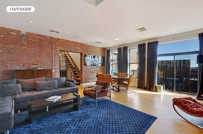 138 Broadway, PHB, Living Room