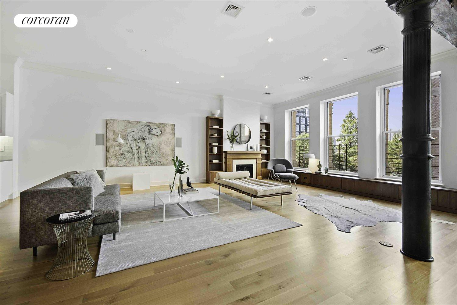New York City Real Estate | View 481 Washington Street, 2-S | Huge Loft Living,  5 windows wide!