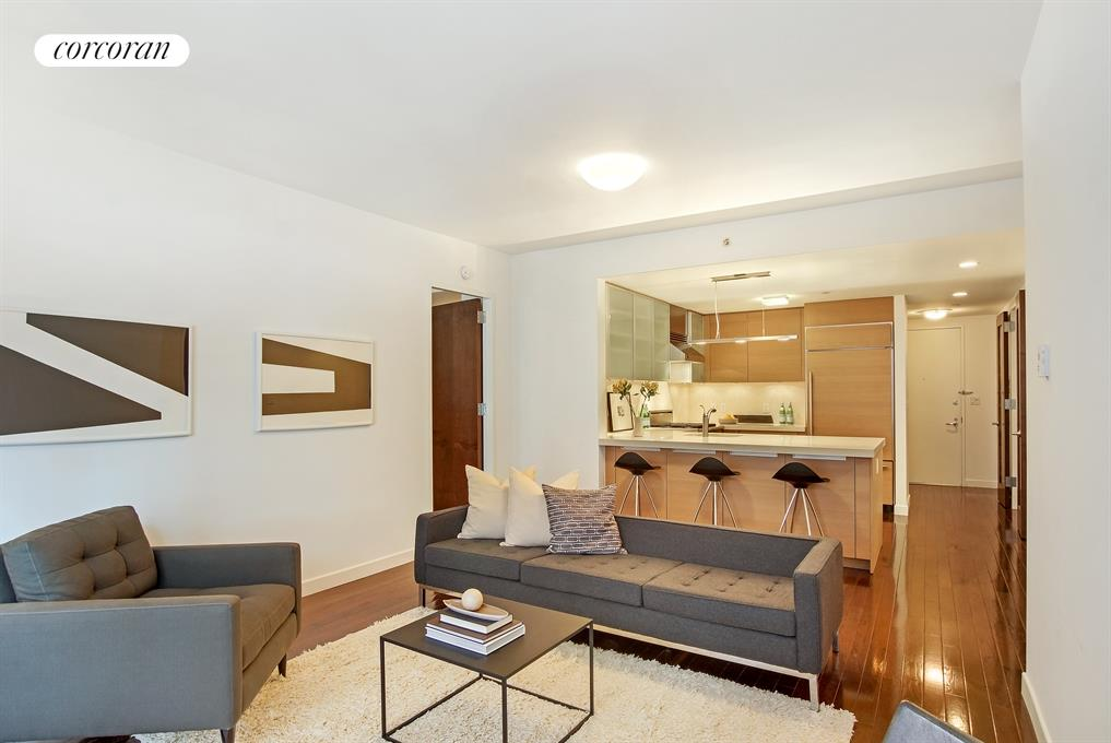 462 West 58th Street, 4C, Living Room