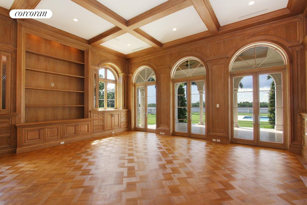 Finely detailed and custom woodwork