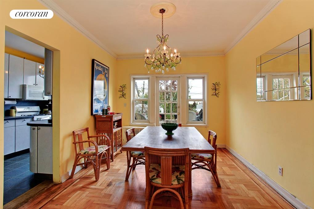 Dining Room with walk-out Terrace