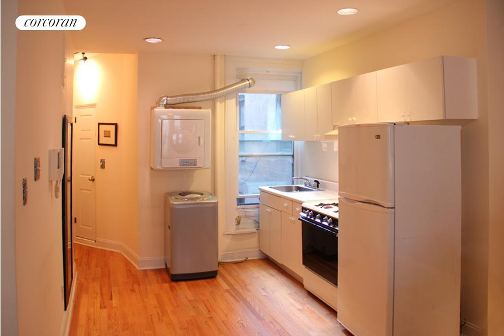 242 West 104th Street, 5WF, Washer / Dryer in kitchen