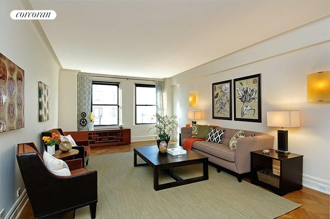 800 West End Avenue, 8C, Living Room