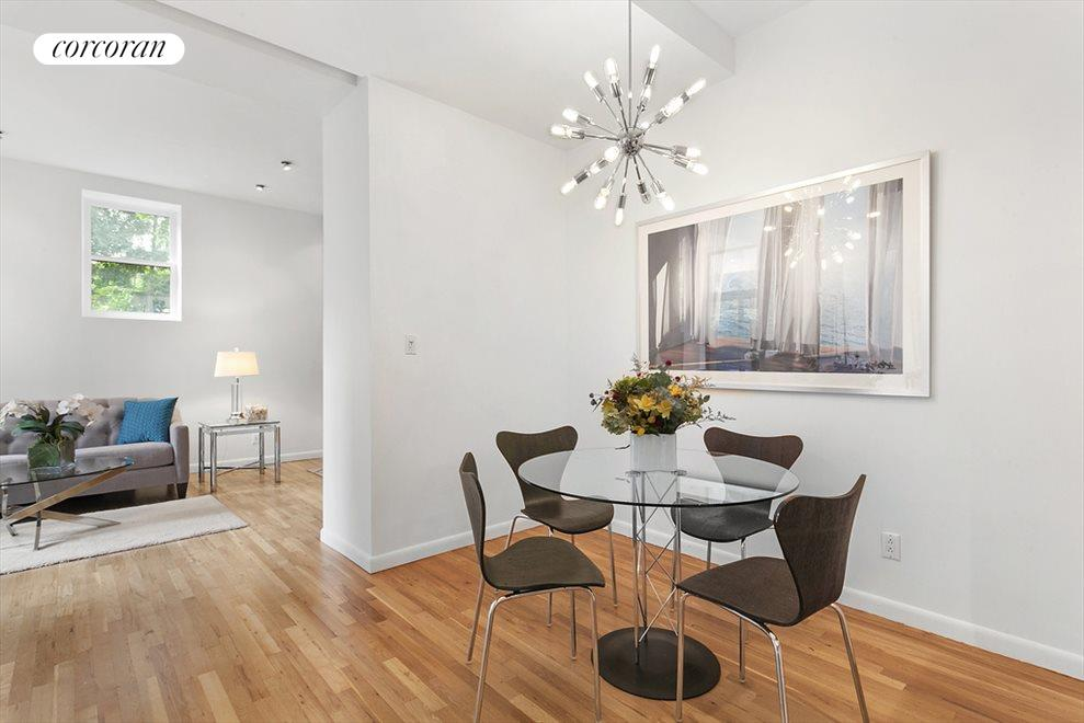Expansive living and dining areas