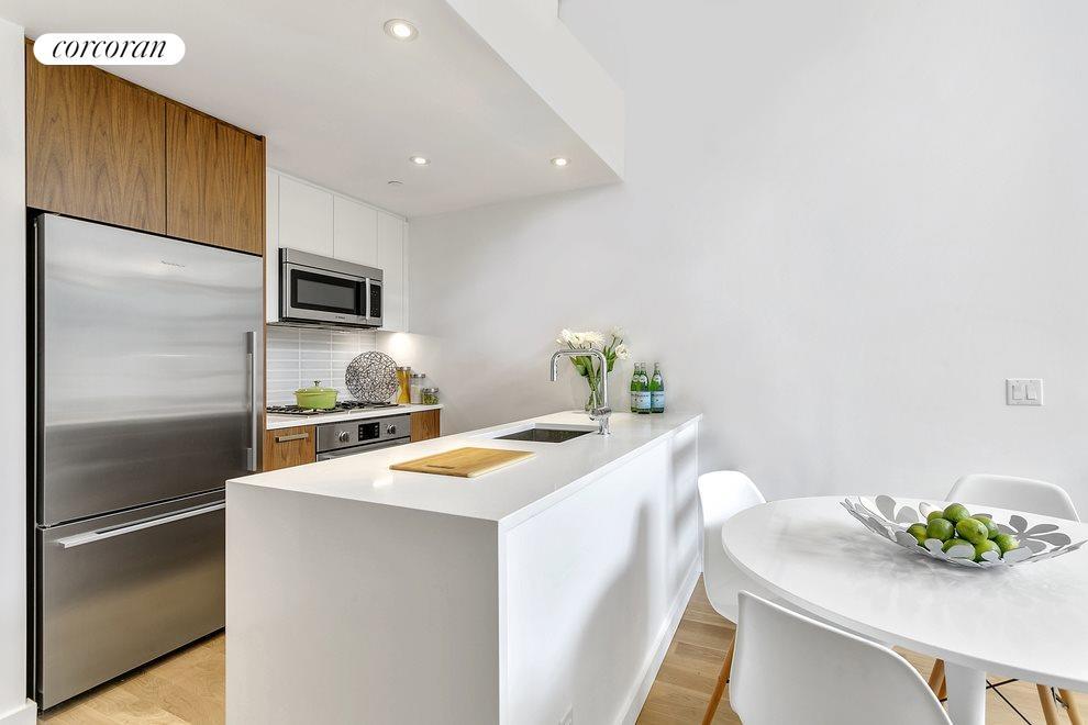 Modern, high-end kitchen