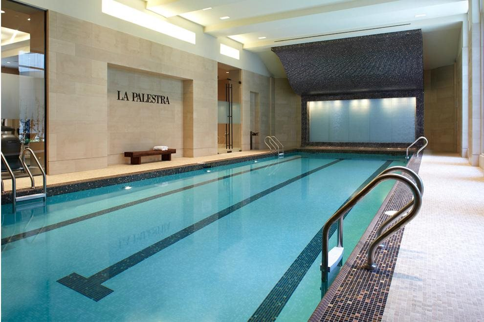 Indoor Swimming Pool Overlooking Gardens