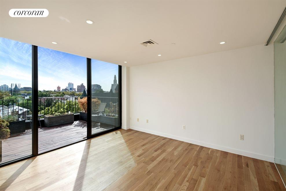 Master Bedroom with Rear Terrace