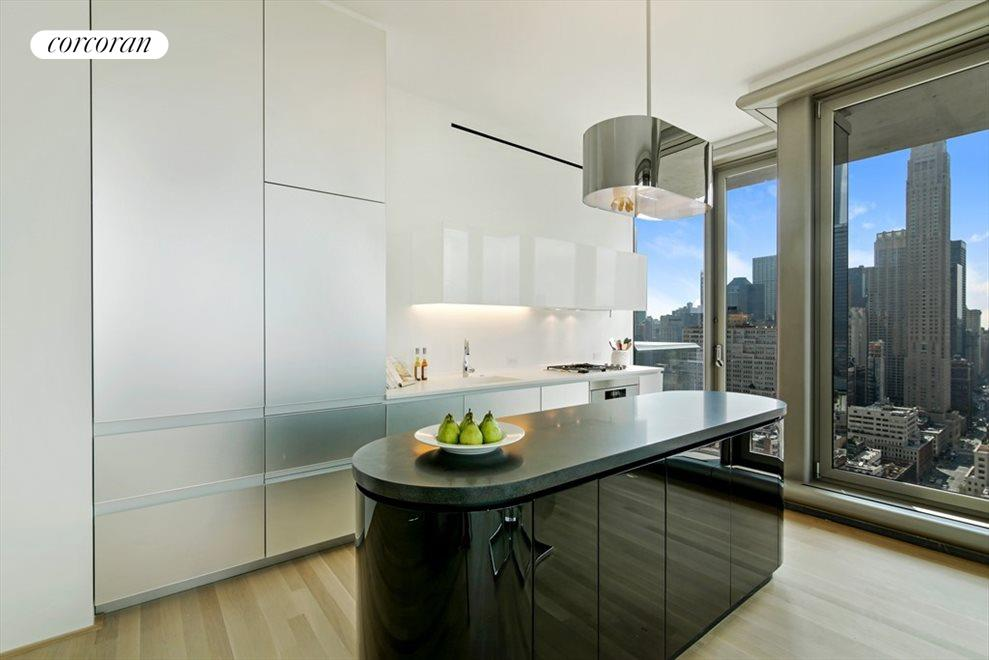 Sleek Open Kitchen