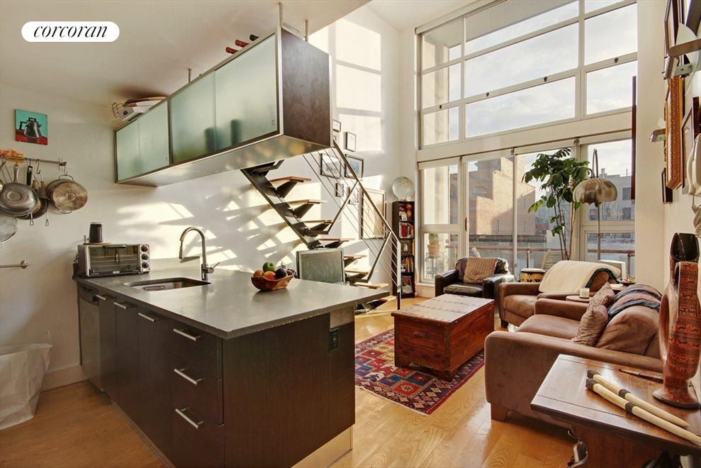 New York City Real Estate | View 113 South 2nd Street, #4A | 1 Bed, 2 Baths