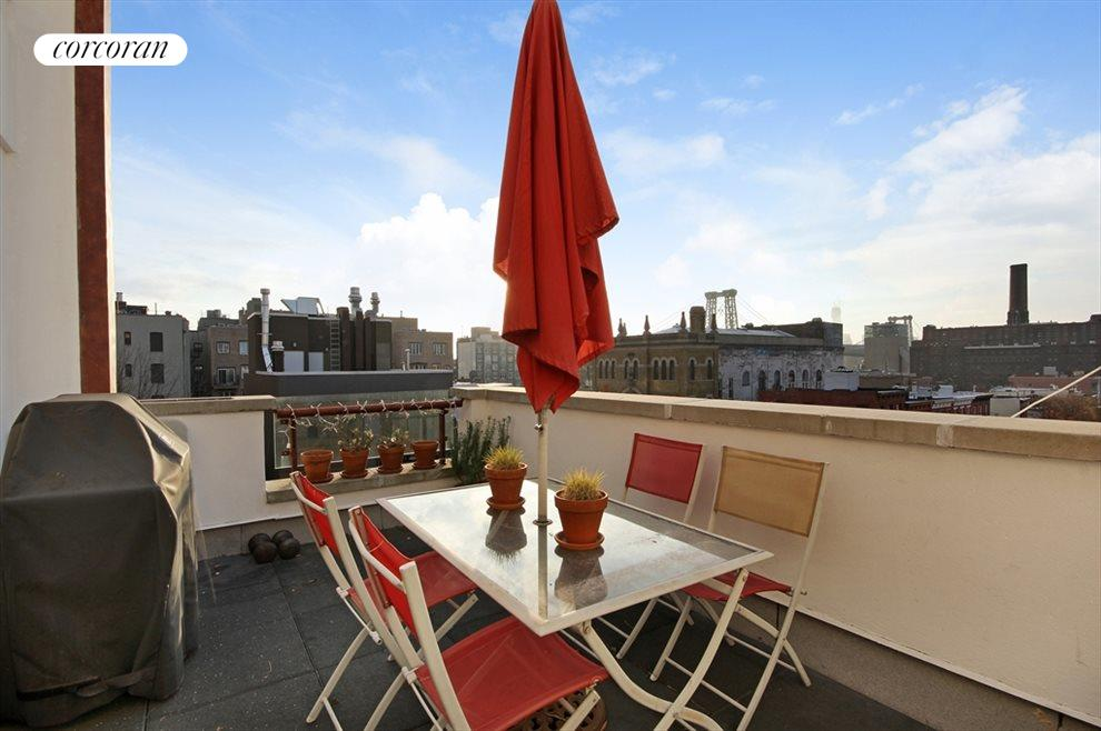 New York City Real Estate | View 113 South 2nd Street, #4A | Terrace