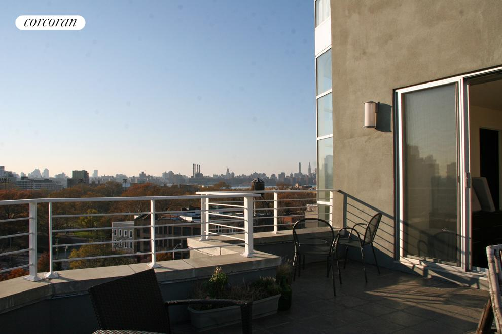 524 Manhattan Avenue, 7, Open kitchen and dining area with view