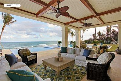 Comfortable outdoor living spaces