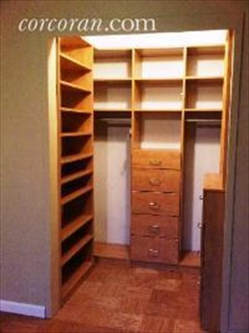 One of MANY closets