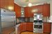 138 Broadway, 2C, Modern kitchen with high-end appliances.
