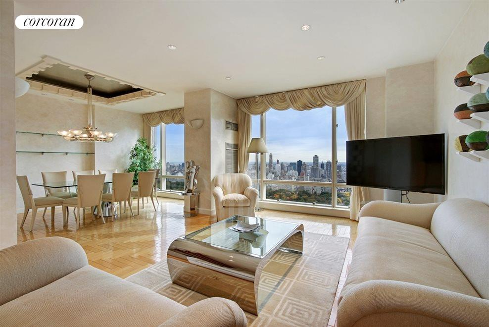 Oversized Living Room w/ AMAZING Central Park View