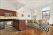 West 119th Street, 64, Manhattan (05 Living Kitchen)