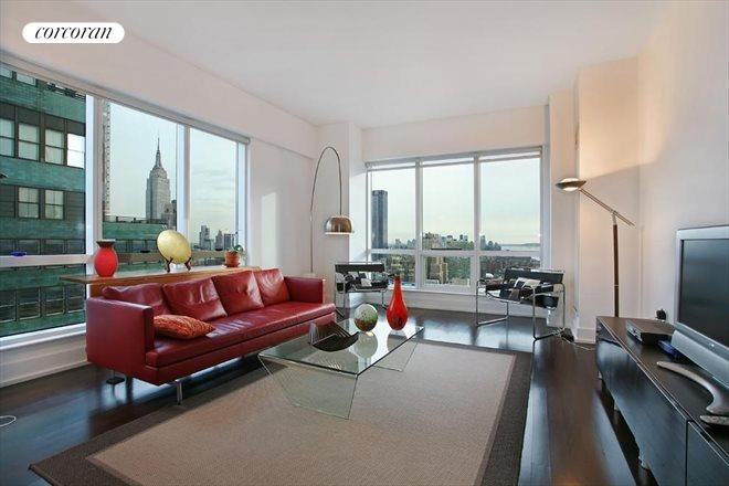 350 West 42nd Street, 41E, Living Room