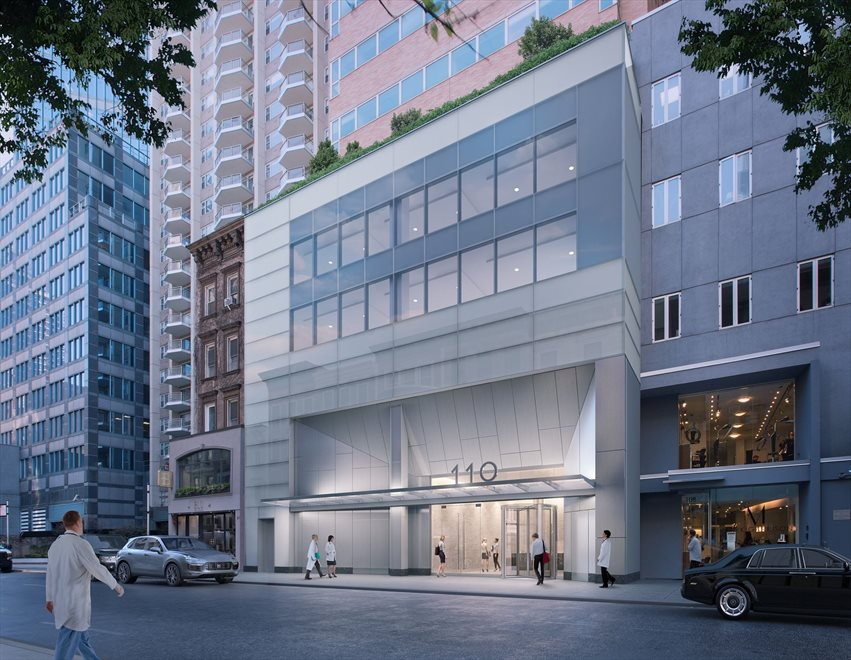 Park Sixty Apartment Building | View 110 East 60th Street | Artist rendering