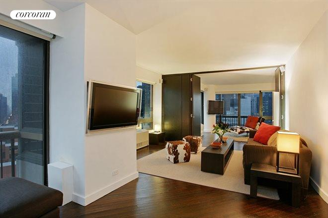 167 East 61st Street, 22AB, East facing living room