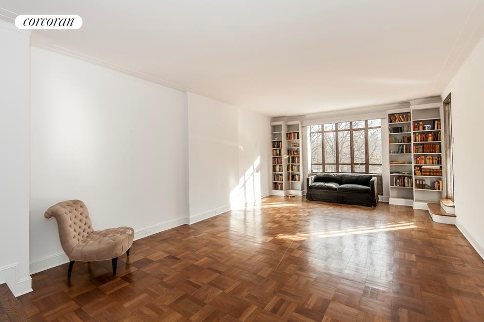 25 Central Park West, 3J, Living Room