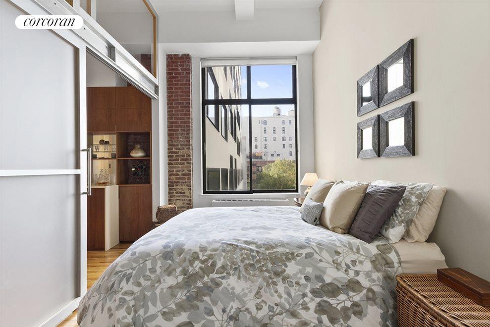 Huge South-facing window & industrial door in BR