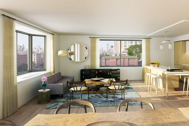 101 West 87th Street, 1012, Living Room