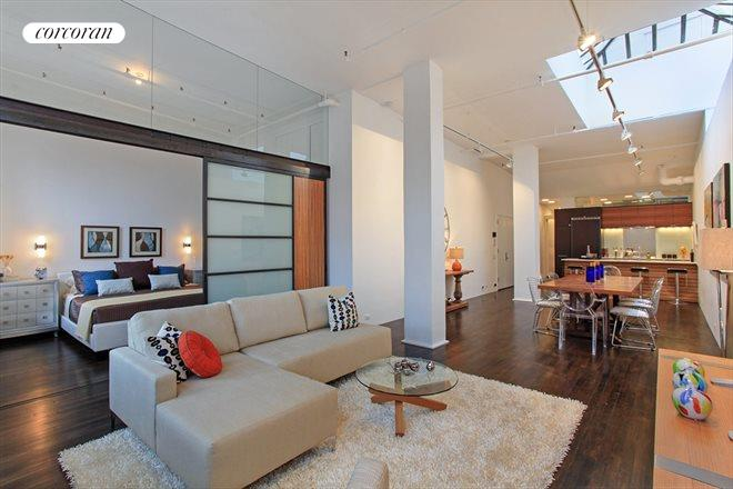 718 Broadway, PH11D, Living Room