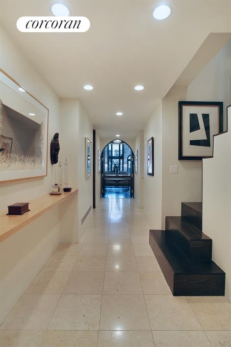 Entry foyer and gallery