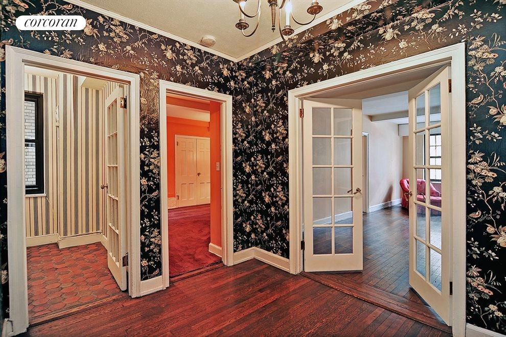 Gracious Entryway with French Doors