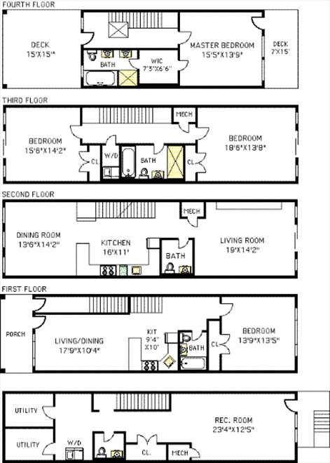 New York City Real Estate | View 47 Irving Place | Floorplan