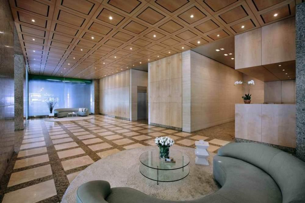 Elegant lobby with full time doorman & concierge