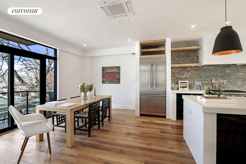 New York City Real Estate | View 346 Van Brunt Street | Dining Room