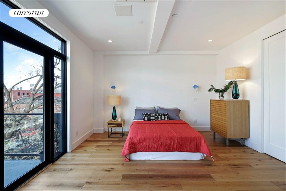 New York City Real Estate | View 346 Van Brunt Street | Master Bedroom