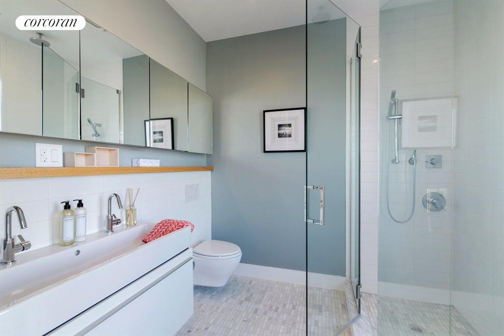 New York City Real Estate | View 346 Van Brunt Street | Master Bathroom