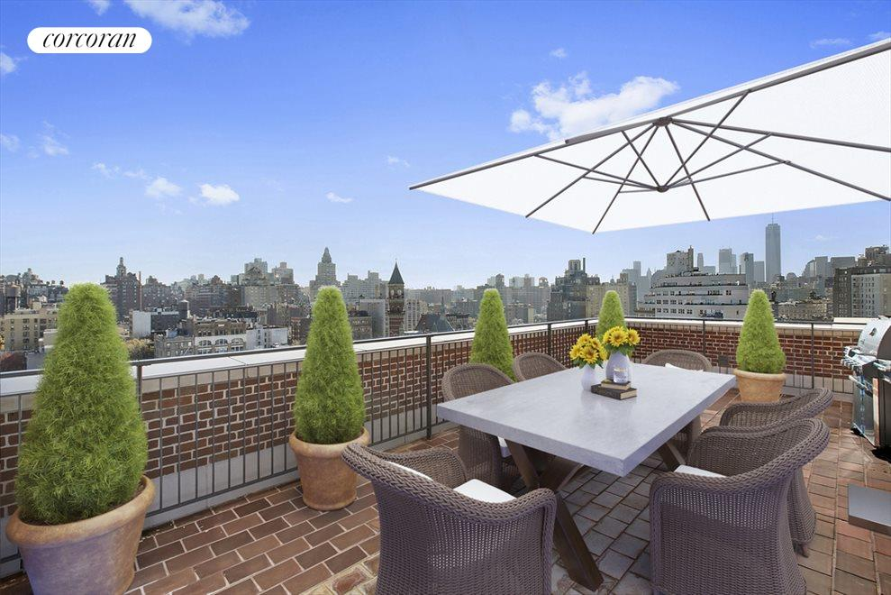 Other Side of Roof Deck (virtually staged)