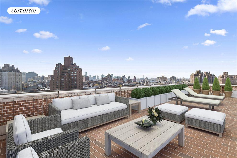 Roof Deck (virtually staged)