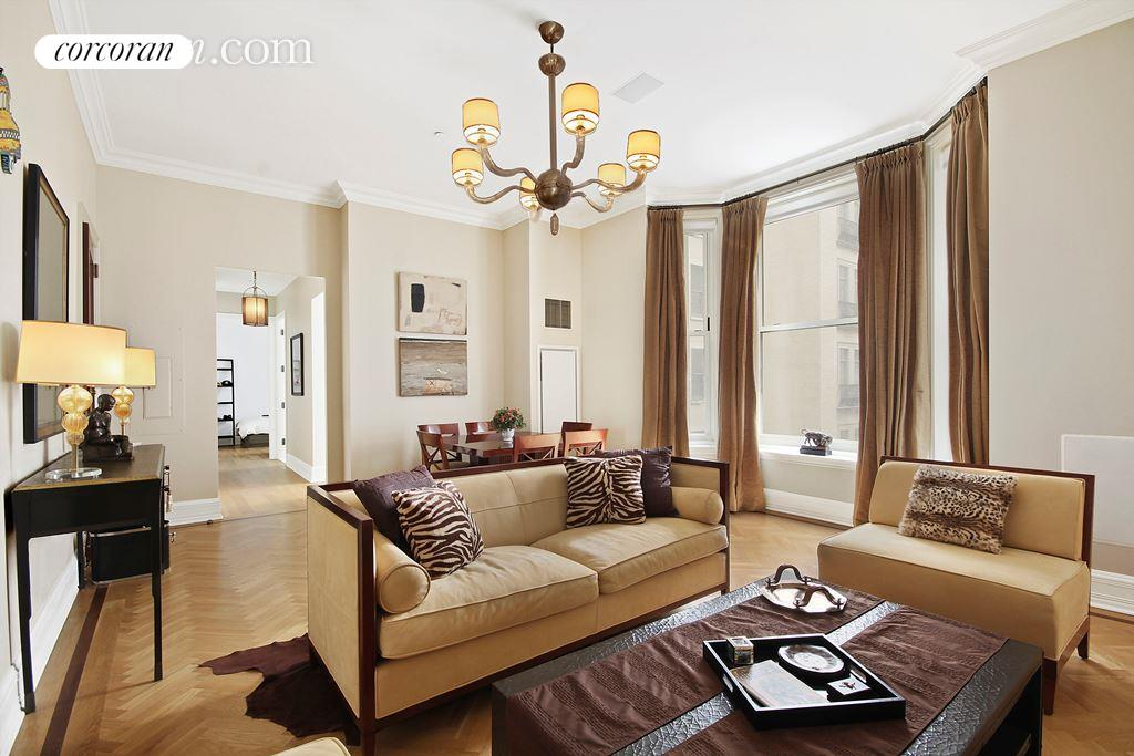1 Central Park South, 1010, Living Room