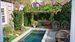 47 Madison Street, Charming secret garden and plunge pool with lovely pergola