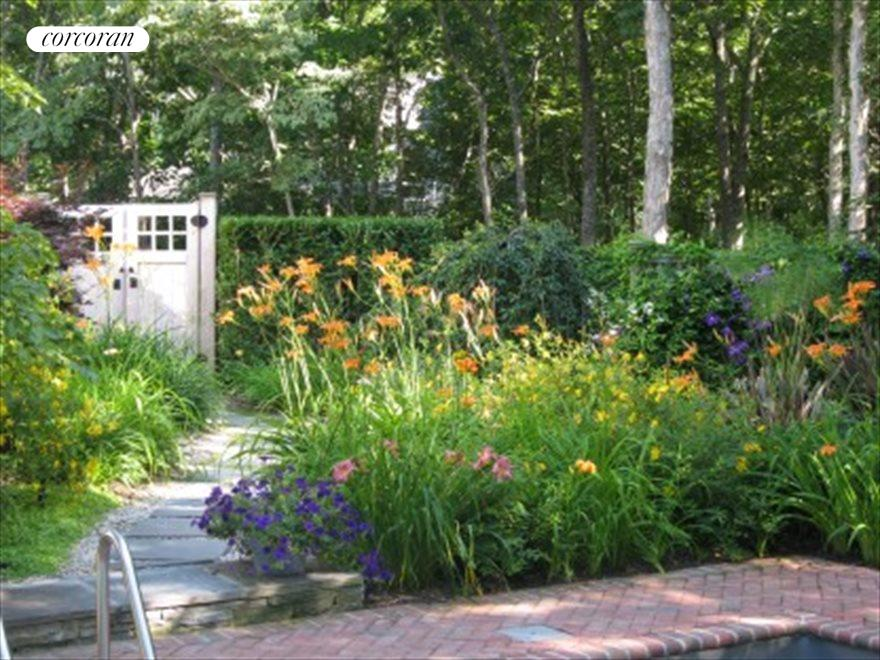 The Hamptons Real Estate | View 17 Larboard Drive | Lovely perennial gardens