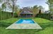 102 Halsey Lane, Gracious and expansive back yard with heated gunite pool